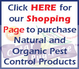 Natural and Organic Pest Control Products